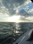 Nice morning for the Whale Cay crossing