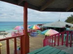 The famous Nippers Bar on Great Guana Cay in the Bahamas