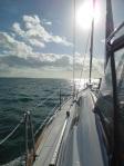 Heading back to Marsh Harbour for Christmas