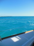 Beautiful blue Sea of Abaco water