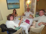 Dinner at the Boat House Restaurant at the Sea Spray Marina, Elbow Cay, Bahamas