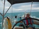 Enjoying the ride from Hatchet Bay to Cape Eleuthera