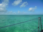Heading from Tahiti Beach to Boat Harbour. Beautiful clear water.