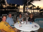 Dinner at Grabbers on Great Guana Cay