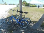We get the fold up bicycles out (first time this year) and explore Cape Eleuthera