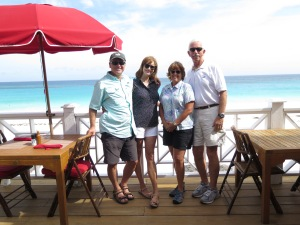After lunch at the Coral Sands Hotel overlooking the beach