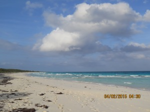 Beach at Highbourne Cay