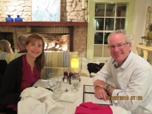 Valentines Day dinner at the Abaco Inn