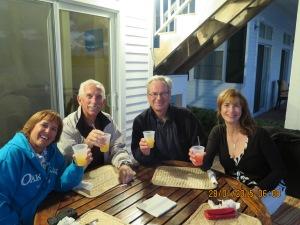 Dinner at Pascal's restaurant near the Cape Eleuthra Marina