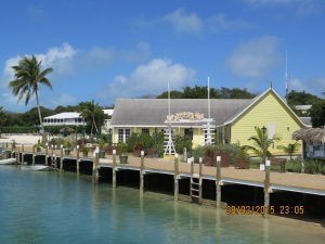 The lovely Green Turtle Club Marina