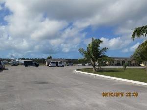 The 'big' (not) Treasure Cay Airport