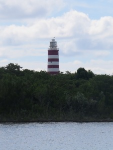 The Hopetown lighthouse is a sure sign you have arrived.
