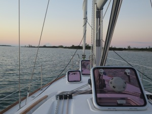 Anchored in beautiful Allens Pennsicola