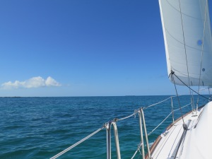 Back on the water on the way to Great Sale Cay. Gorgeous day!